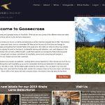 Picture of Goosecross winery website