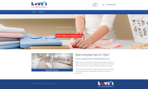 Loves Laundromat Website