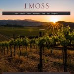 Picture of J Moss winery website