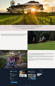 Image of Sonoma Valley Trail Rides website
